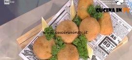 La Prova del Cuoco - Crocchette cremose di gamberi e mais ricetta Hirohiko Shoda