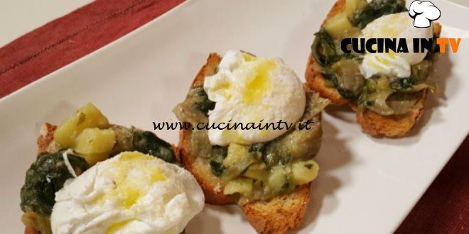 Cotto e mangiato - Crostini verdure e uova ricetta Tessa Gelisio