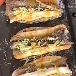 La Prova del Cuoco - Hot dog con costine di maiale ketchup di carote e salsa verde ricetta Andrea Mainardi