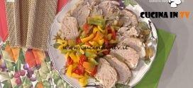 La Prova del Cuoco - Pollo ripieno con peperoni ricetta Alessandra Spisni