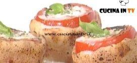 La Prova del Cuoco - ricetta Pomodori al cuor di mozzarella