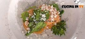 La Prova del Cuoco - Rigatoni alle uova di pesce con broccoletti cipolla bruciata e ricotta salata ricetta Gianfranco Pascucci