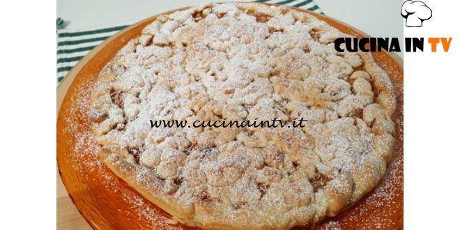 Cotto e mangiato - Sbriciolona alle mele ricetta Tessa Gelisio