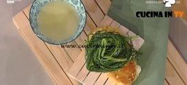 La Prova del Cuoco - Scamorza in carrozza con agretti ricetta Sergio Barzetti