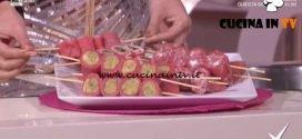 Detto Fatto - Sushi di carne ricetta Luca Terni