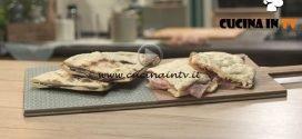 Pronto e postato - ricetta Testo dolce con crema di nocciole o salumi di Benedetta Parodi