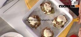 La Prova del Cuoco - Torrette di carciofi e carpaccio con stracchino ricetta Anna Moroni