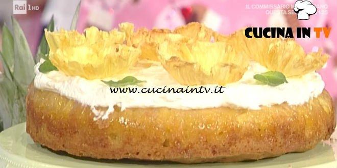 Prova Del Cuoco Torta Allananas Ricetta Cattelani