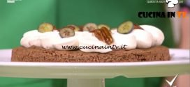 Detto Fatto - Torta con noci pecan ricetta Gian Luca Forino