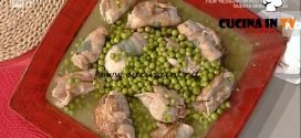 La Prova del Cuoco - Uccellini scappati con piselli ricetta Alessandra Spisni