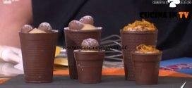 Detto Fatto - Bicchierini di cioccolato ricetta Mirco Della Vecchia