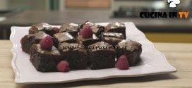 Pronto e postato - ricetta Brownies di Benedetta Parodi