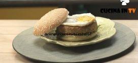 Pronto e postato - ricetta Burger vegetariano di Benedetta Parodi