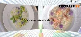 La Prova del Cuoco - ricetta Cefalo al pepe verde zucchine trifolate e menta