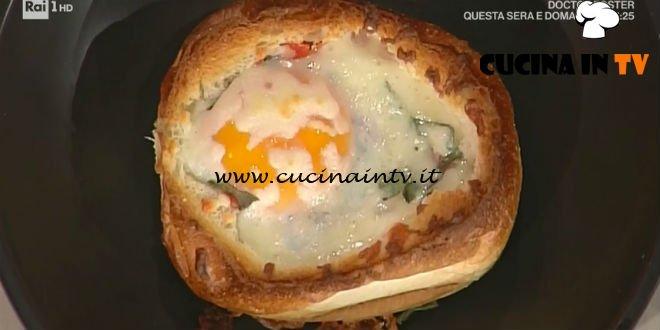 La Prova del Cuoco - Cocotte di pane uova e pancetta ricetta Andrea Mainardi