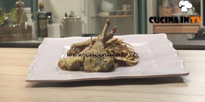 Pronto e postato - ricetta Costolette di agnello con carciofi di Benedetta Parodi