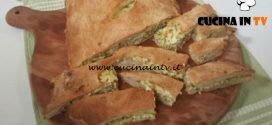 Cotto e mangiato - Focaccia zucchine e feta ricetta Tessa Gelisio