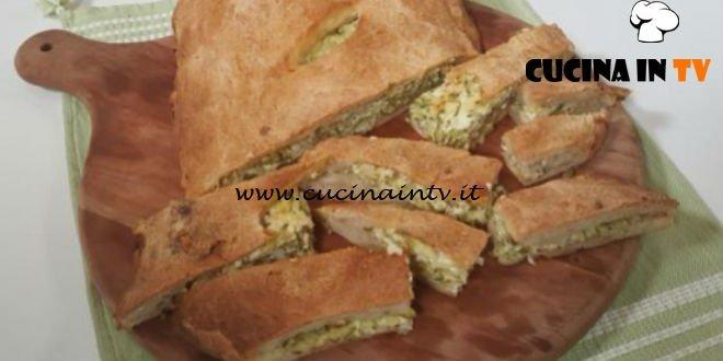Cotto e Mangiato | Focaccia zucchine e feta ricetta Tessa Gelisio