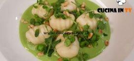 Cotto e mangiato - Gnocchetti di ricotta nostrana piselli e asparagi ricetta Tessa Gelisio