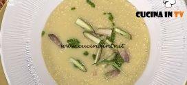 La Prova del Cuoco - ricetta Manfrigoli risottati asparagi e pesto di stridoli
