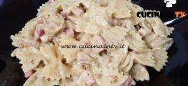 Cotto e mangiato - Pasta al pesto di pistacchi ricetta Tessa Gelisio