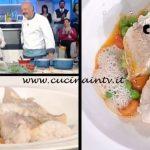 La Prova del Cuoco - Musdea al vapore acqua di mandorle e pomodorini al timo ricetta Gianfranco Pascucci