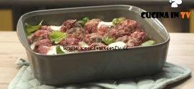 Pronto e postato - ricetta Polpette al sugo infornate di Benedetta Parodi