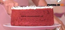 Detto Fatto - Red velvet chiffon cake ricetta Francesco Saccomandi