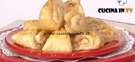 La Prova del Cuoco - ricetta Triangoli di burro e zucchero
