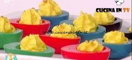 La Prova del Cuoco - ricetta Uova colorate