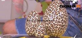 Detto Fatto - Uovo di cioccolato maculato ricetta Mirco Della Vecchia