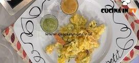 La Prova del Cuoco - ricetta Verdure fritte con pesto di insalata e maionese di pomodoro