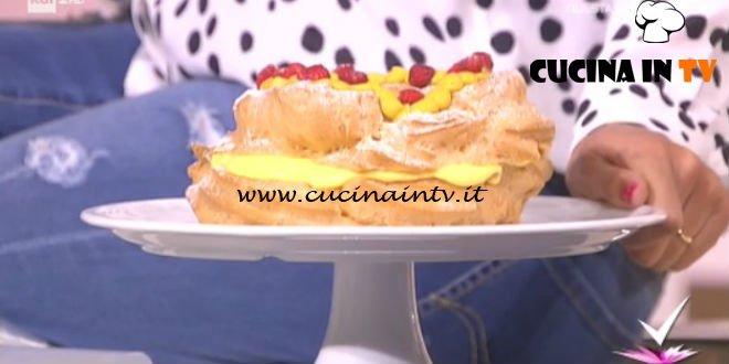 Detto Fatto - Zeppola al pistacchio e fragoline ricetta Gian Luca Forino
