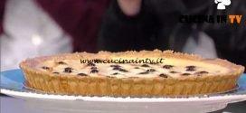 La Prova del Cuoco - Crostata di ricotta ed amarene ricetta Federico Pascoli