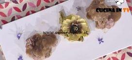 La Prova del Cuoco - ricetta Filetto di mora romagnola lardellato con carciofo moretto e albana