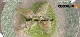 La Prova del Cuoco - Fiori di zucca fritti ripieni ricetta Anna Moroni