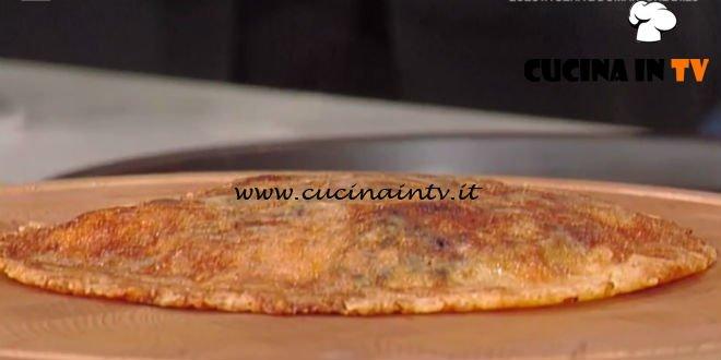 La Prova del Cuoco - Frico con patate porri e gamberi ricetta Lidia Bastianich