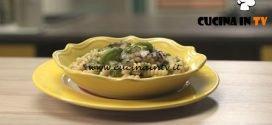 Pronto e postato - ricetta Fusilli con melanzane e ombrina di Benedetta Parodi