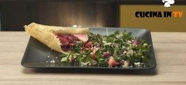 Pronto e postato - ricetta Insalata di fragole croccante di Benedetta Parodi