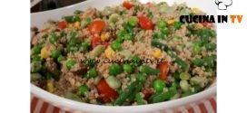 Cotto e mangiato - Insalata di quinoa con verdure ricetta Tessa Gelisio