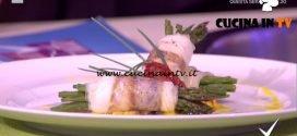 Detto Fatto - Involtini di branzino con asparagi ricetta Ilario Vinciguerra