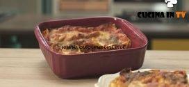 Pronto e postato - ricetta Lasagnetta caprese di Benedetta Parodi