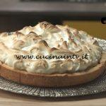 Pronto e postato - ricetta Lime meringue pie di Benedetta Parodi