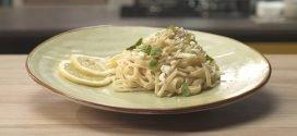 Pronto e postato - ricetta Linguine limone feta e basilico di Benedetta Parodi