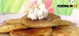 La Prova del Cuoco - ricetta Pancakes alle mele