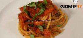 Cotto e mangiato - Pasta ai sapori mediterranei ricetta Tessa Gelisio