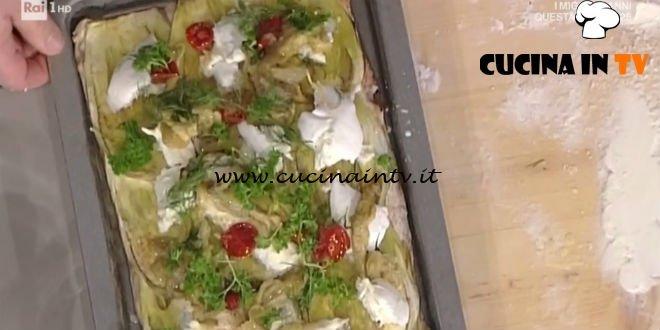 Prova Del Cuoco Pizza Con Melanzane Pomodorini Secchi E Bufala