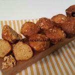 Cotto e mangiato - Plumcake integrale e noci ricetta Tessa Gelisio