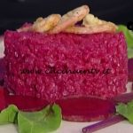Risotto al rosso di barbabietola e gamberetti al curry ricetta Simionato La Prova del Cuoco