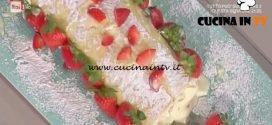 La Prova del Cuoco - Rollé di Pan di Spagna ricetta Anna Moroni